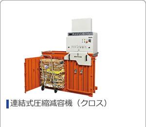 連結式圧縮減容機