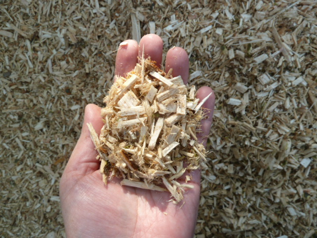 処理で生まれた木材チップを肥料や堆肥にすることも可能