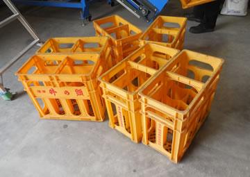 主な処理対象物のプラスチックケース