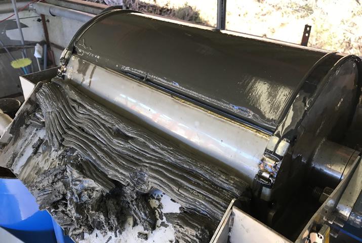 汚泥脱水機