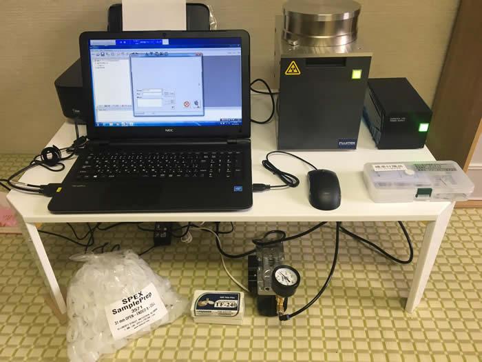 RPF用塩素検査装置