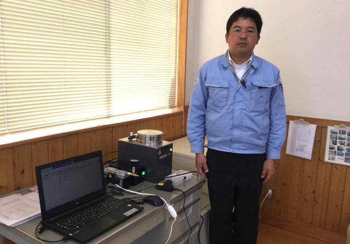 検査機器を導入して、増加するRPFの品質管理に活用