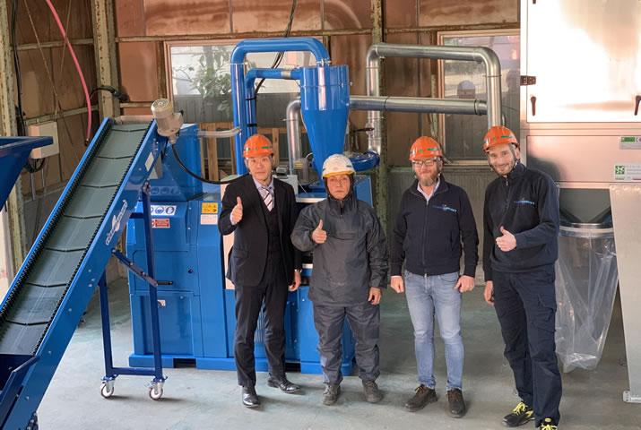 国内初号ライン!銅ナゲット製造機で新たな収益基盤を構築