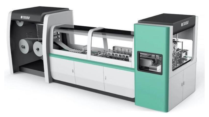 国内唯一の不織布専用プリンターで、精密な印刷が可能